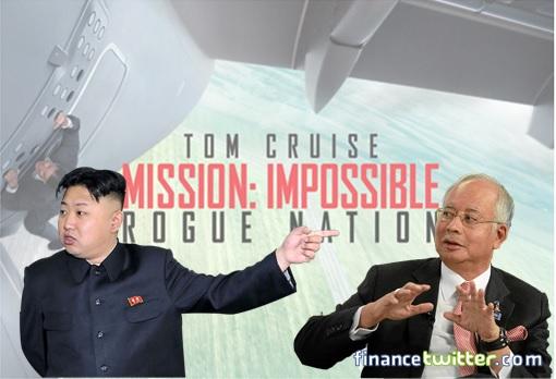 Mission Impossible Rogue Nation - North Korean Kim Jong-un and Malaysian Najib Razak