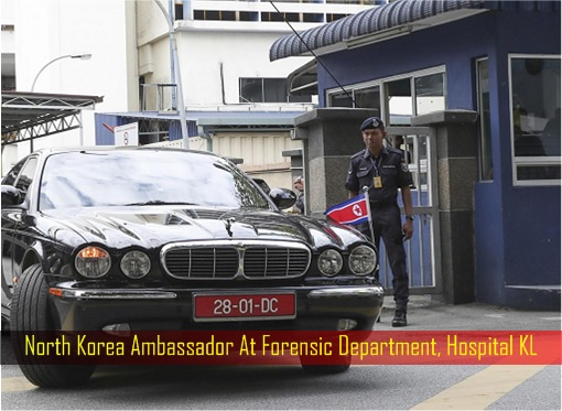 North Korea Ambassador At Forensic Department, Hospital KL