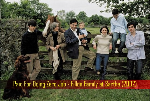 Paid For Doing Zero Job - Fillon Family at Sarthe (2002)