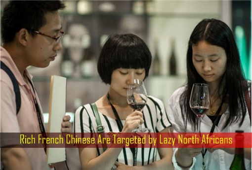 Rich French Chinese Are Targeted by Lazy North Africans