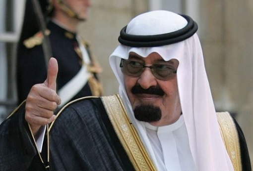 Saudi Arabia King Salman Thumbs Up