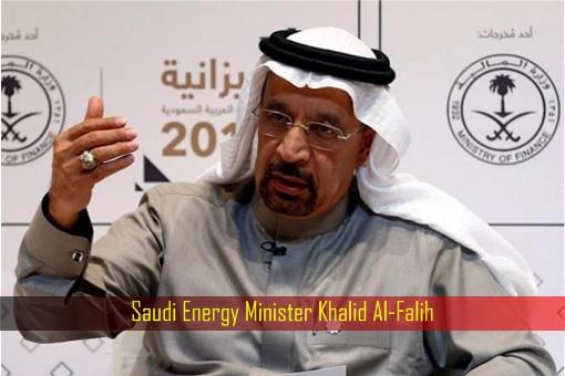 Saudi Energy Minister Khalid Al-Falih
