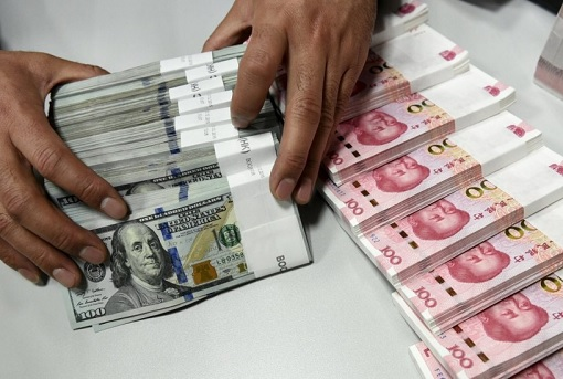 US Dollars and China Yuan Renminbi - Currency Notes