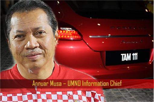 Annuar Musa - UMNO Information Chief