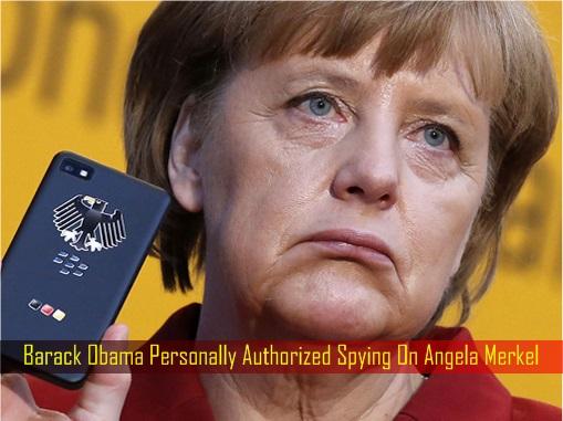 Barack Obama Personally Authorized Spying On Angela Merkel