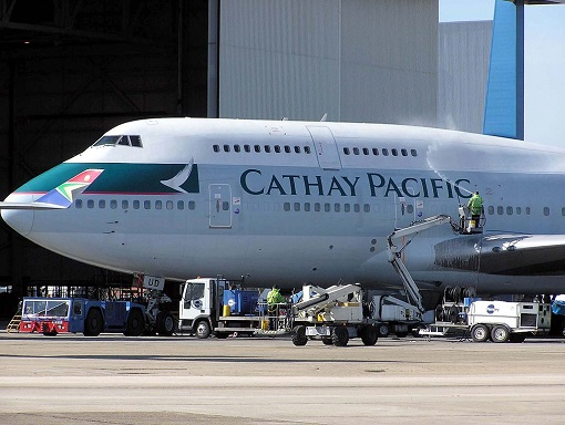 Cathay Pacific Airlines - At Tarmac