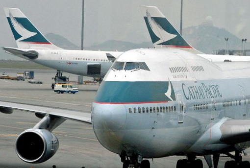 Cathay Pacific Airlines - Planes On Tarmac