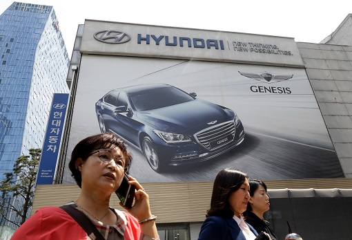 China Boycott South Korea - Hyundai