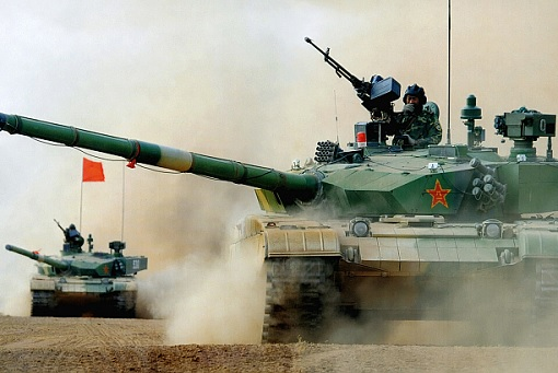 China Military - Tanks Rolling