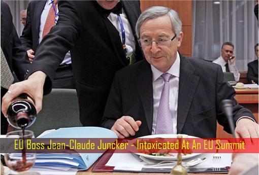 EU Boss Jean-Claude Juncker - Intoxicated At An EU Summit