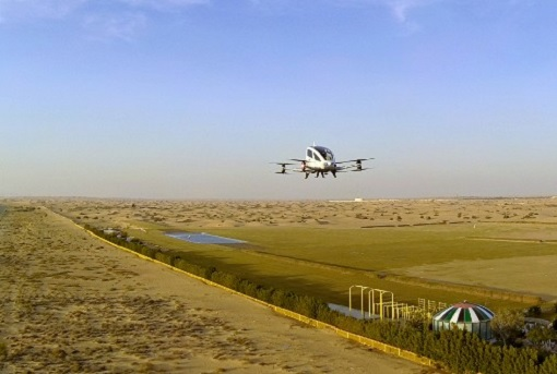 Flying Taxi - Dubai Road and Transport Authority Test Flights