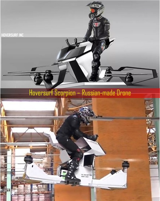 Hoversurf Scorpion – Russian-made Drone