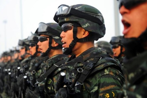 ISIS - China Anti-Terror Army