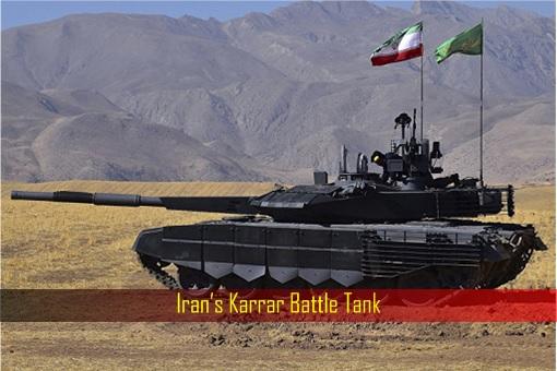 Iran's Karrar Battle Tank