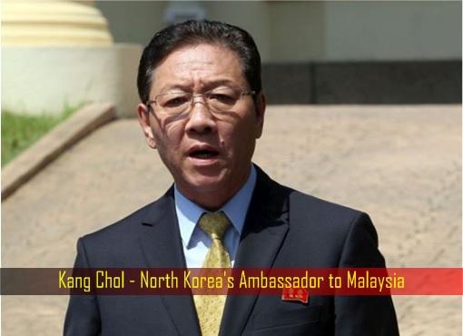 Kang Chol - North Korea's Ambassador to Malaysia