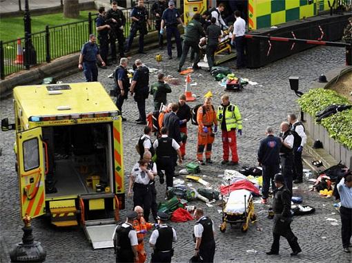 London Terrorist Attack - Site of Attack - Britain