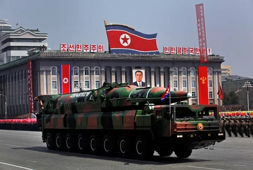 North Korea Military March - Rocket