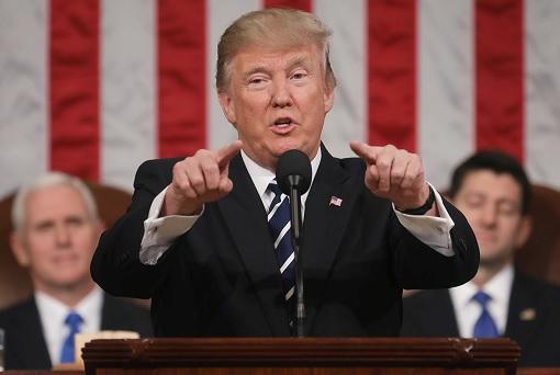 President Trump First Speech To Congress
