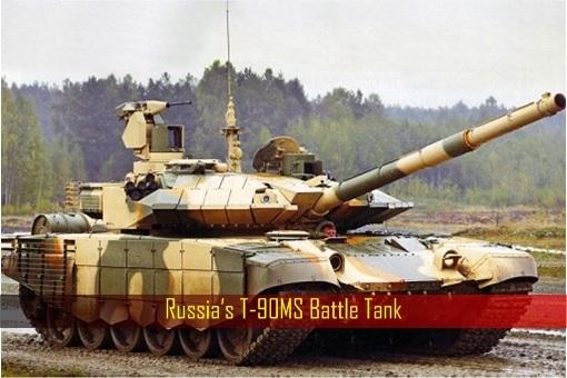 Russia's T-90MS Battle Tank
