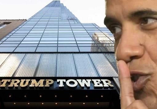 Trump Tower Bugged by Barack Obama