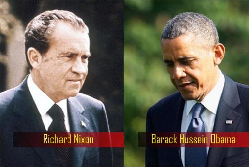 Watergate Scandal - Richard Nixon and Barack Obama