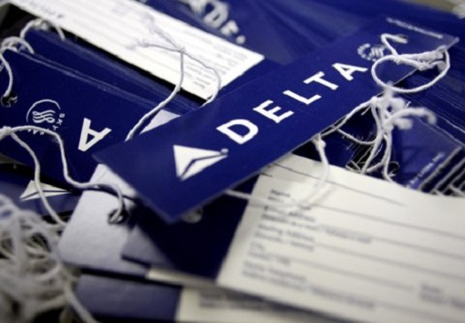 Delta Air Lines Airlines - Tag