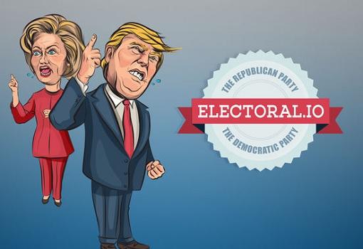 Electoral Game - Hillary Clinton vs Donald Trump