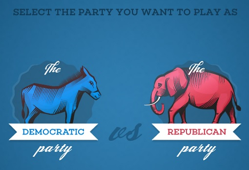 Game - Democratic vs Republican - Select