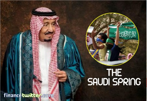 King Salman - The Saudi Spring
