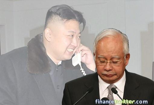 Najib Razak Defeated Humiliated by Kim Jong-un