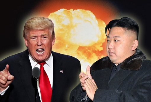 Nuclear War Poker Game - Donald Trump vs Kim Jong-un