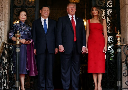 President Donald Trump and President Xi Jinping - Meeting With Their Spouse