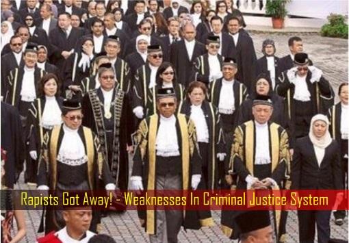Rapists Got Away - Weaknesses In Criminal Justice System