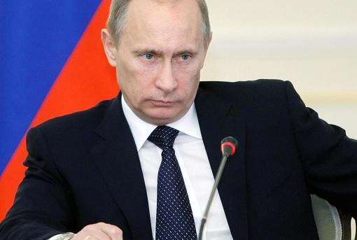 Russia Vladimir Putin - Serious Facial Expression