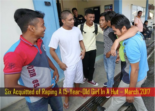 Six Acquitted of Raping A 15-Year-Old Girl In A Hut – March 2017