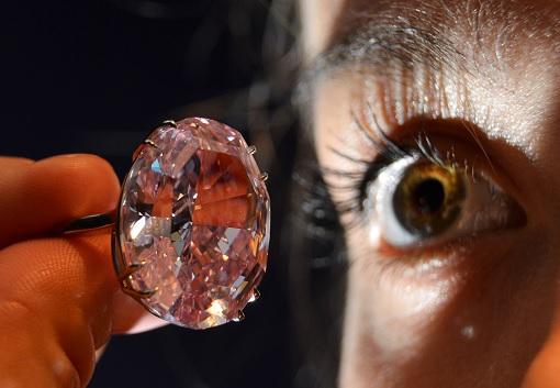 The Pink Star Diamond - As Big As An Eye