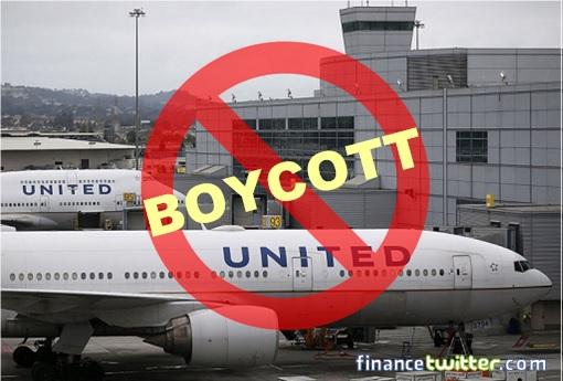 United Airlines - Boycott