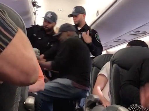 United Airlines Flight 3411 - Three Security Officers Violently Dragged Chinese David Dao