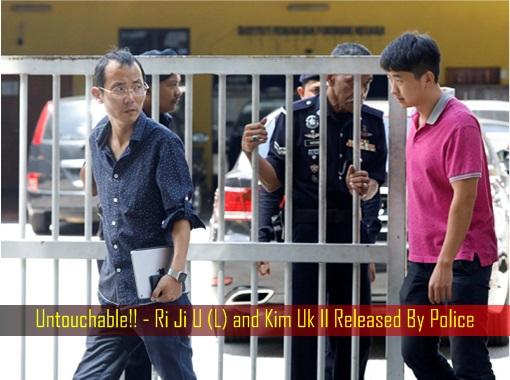 Untouchable - Ri Ji U and Kim Uk Il Released By Police