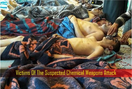 Victims Of The Suspected Chemical Weapons Attack