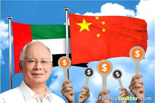 1MDB - Najib Razak - UAE Abu Dhabi and China - Bid Higher