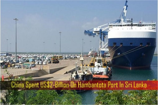 China Spent US$2-Billion On Hambantota Port In Sri Lanka