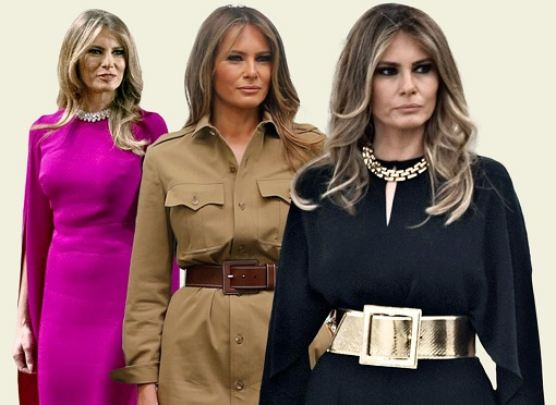 Fashion Diplomacy - Melania Trump First Foreign Trip - Stunning Fashions
