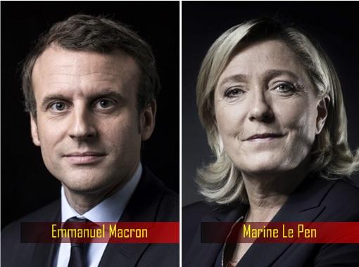 France Presidency Election 2017 - Emmanuel Macron and Marine Le Pen