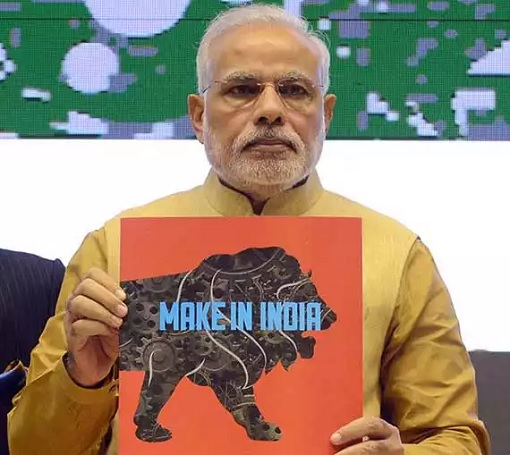 India Prime Minister Narendra Modi - Make in India