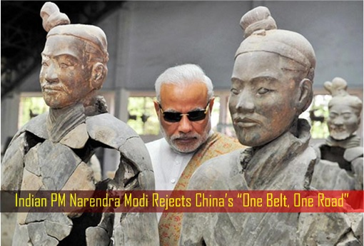 Indian PM Narendra Modi Rejects China's One Belt, One Road