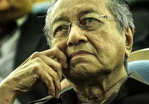 Mahathir Mohamad - Sad Expression