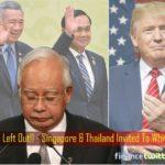 White House Invites Thailand, Singapore & Even Duterte - But Left Out Najib