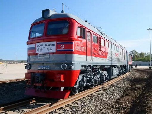 North Korea-Russia Train - Rail Transportation