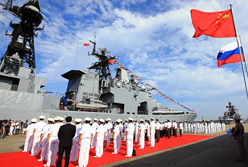 Russian and Chinese Naval